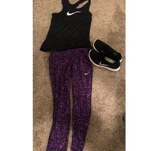 Nike xs workout pants